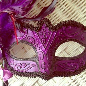 Mardi Gras masquerade mask